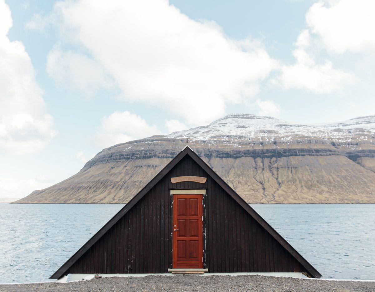 House in Kollafjørður, Faroe Islands, 2015
