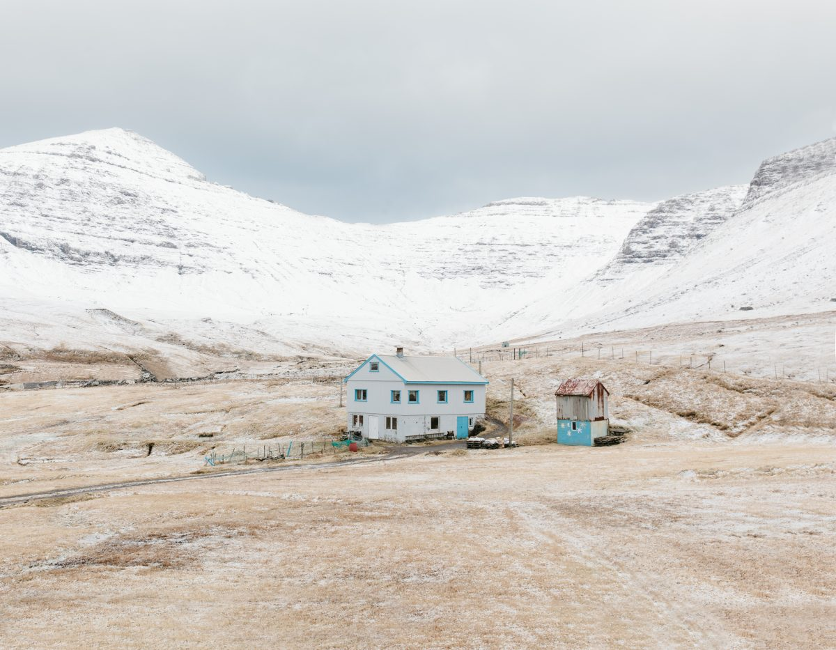 House in Gásadalur, Faroe Islands, 2016