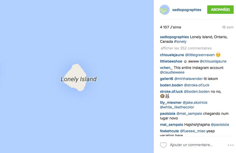 © SadTopographies / Instagram