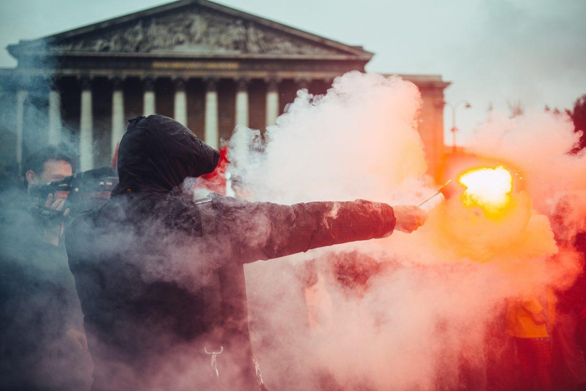 Manifestation contre la loi travail et le 49,3, paris 10 mai 201