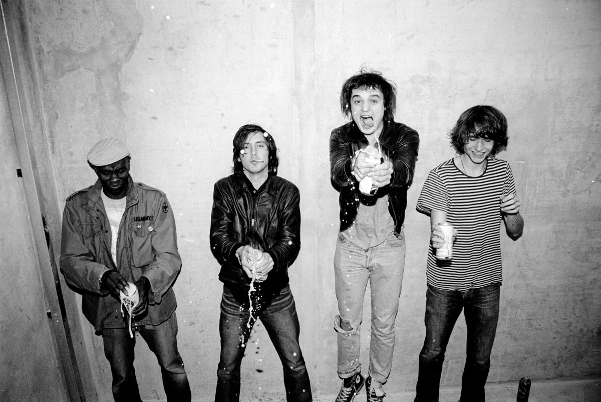 """The Libertines, époque Up The Bracket"", © Roger Sargent"