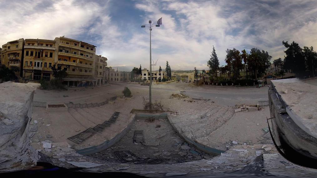 """Extrait de """"Jisr al-Shoughour, a devasted syrian city"""", de Raphaël Beaugrand & Armand Hurault"""