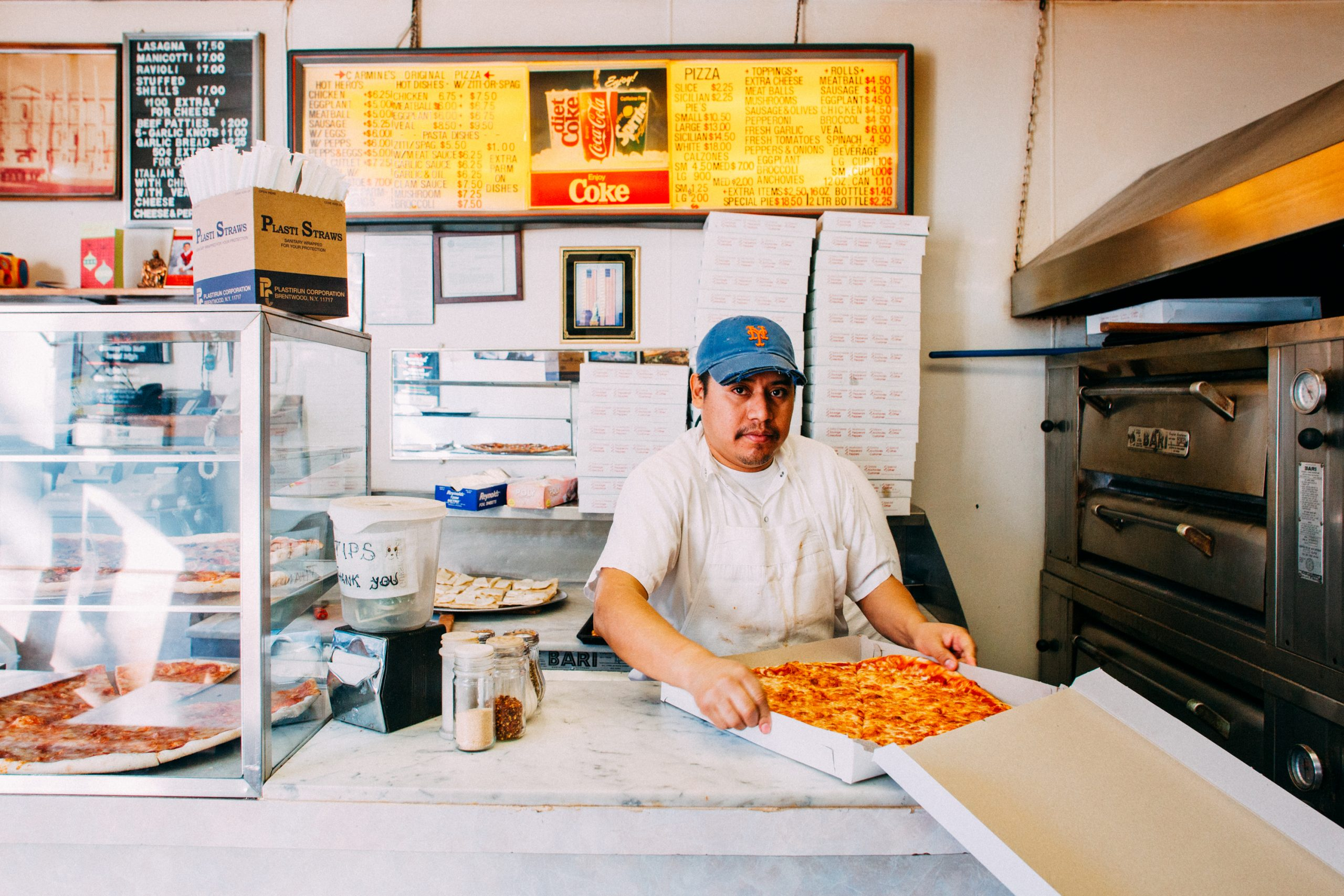 Fisheye Magazine | The New York Pizza Project