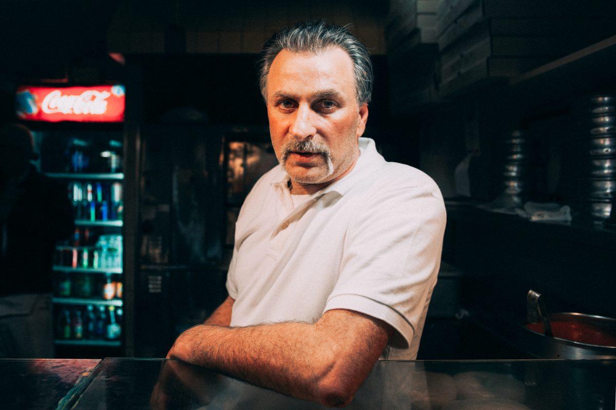 Lorenzo. Image tirée du New York Pizza Project / © Nick Johnson & Gabe Zimmer