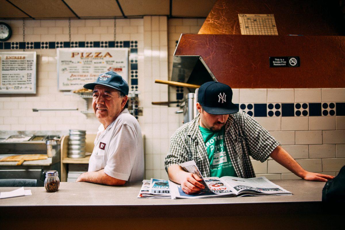 Image tirée du New York Pizza Project / © Nick Johnson & Gabe Zimmer