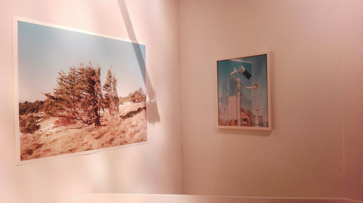 Vue de l'exposition d'Apolline Lamoril, qui a suivi la trace d'une jeune femme morte d'une overdose il y a des années à Bandol.