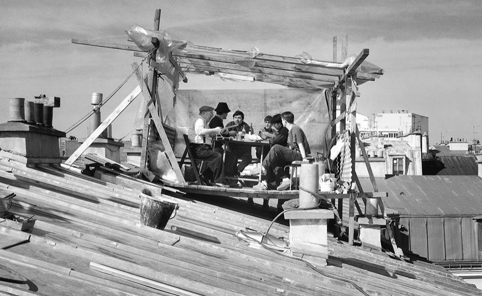 Sur les toits de Picto Bastille / © Gaston Bergeret