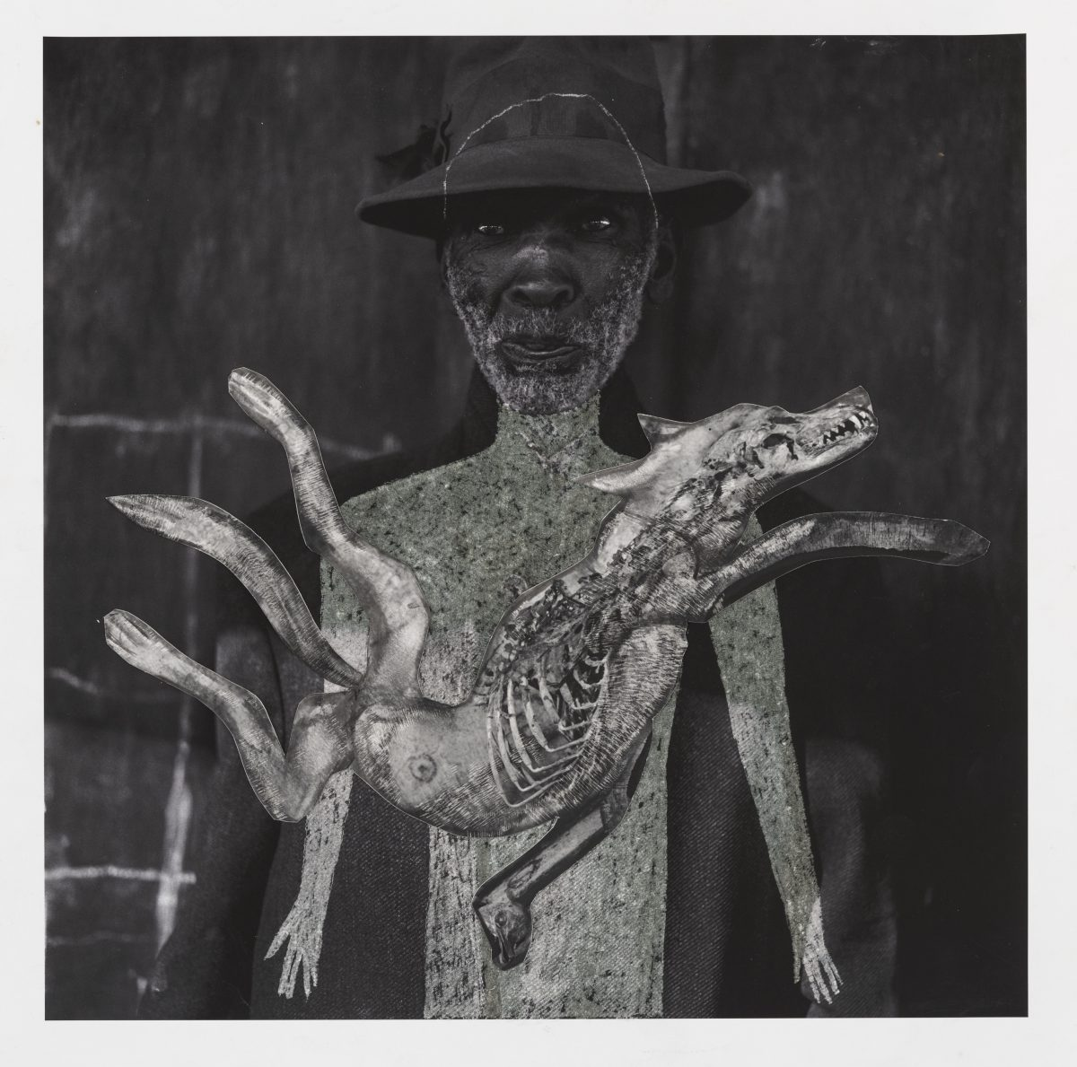Man with Hat © Roger Ballen et Hans Lemmen