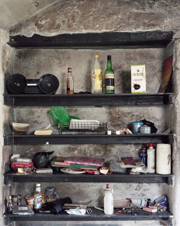 "Assorted Items, Dulyn Bothy, Snowdonia National Park, Wales. From ""Black Dots"" © Nicholas White"