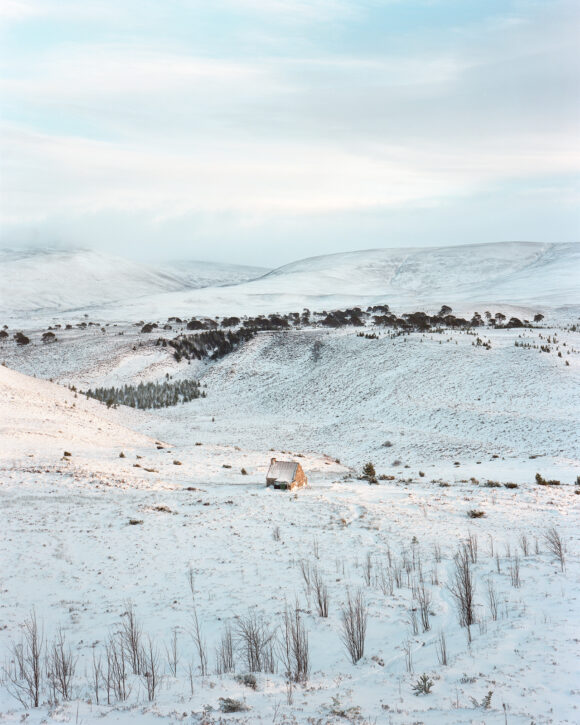 "Ryvoan, Cairngorm Mountains, Scotland. From ""Black Dots"" © Nicholas White"