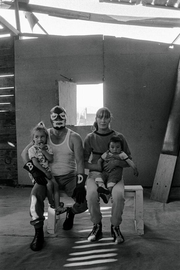Paz Errázuriz Black Demon, 2002-2003. From « Luchadores del ring » © Paz Errázuriz