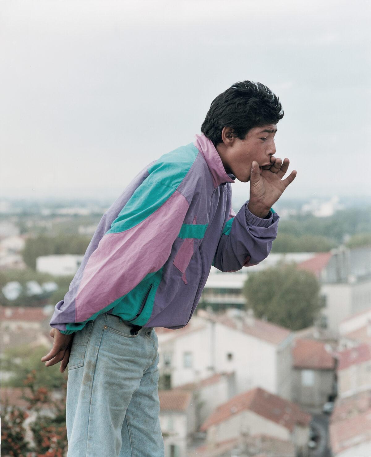 Mathieu Pernot, Mickael, Arles, 2001. Avec l'aimable autorisation de la galerie Éric Dupont.