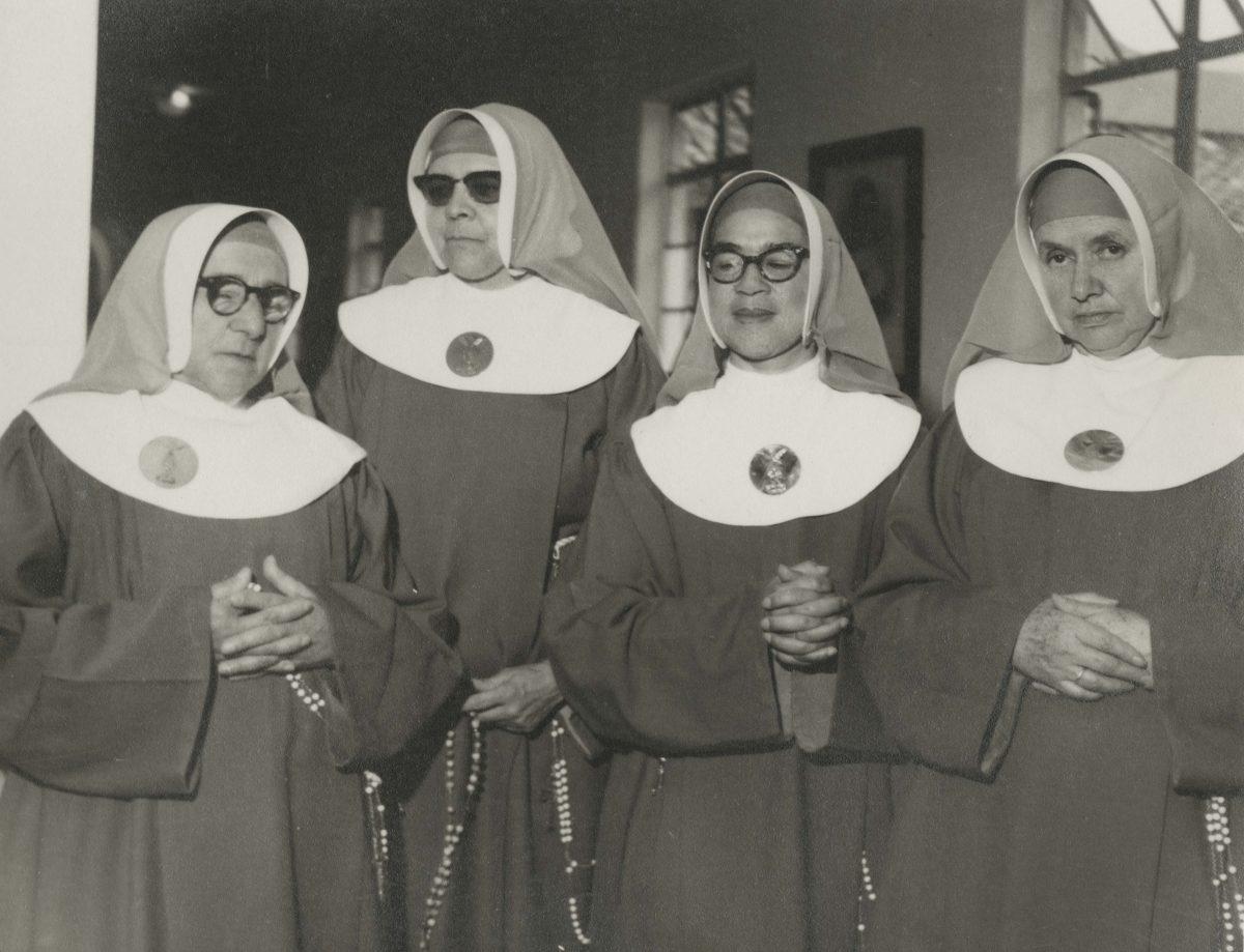 Anon. Bogota, Nuns, late 1960s. Copyright free*