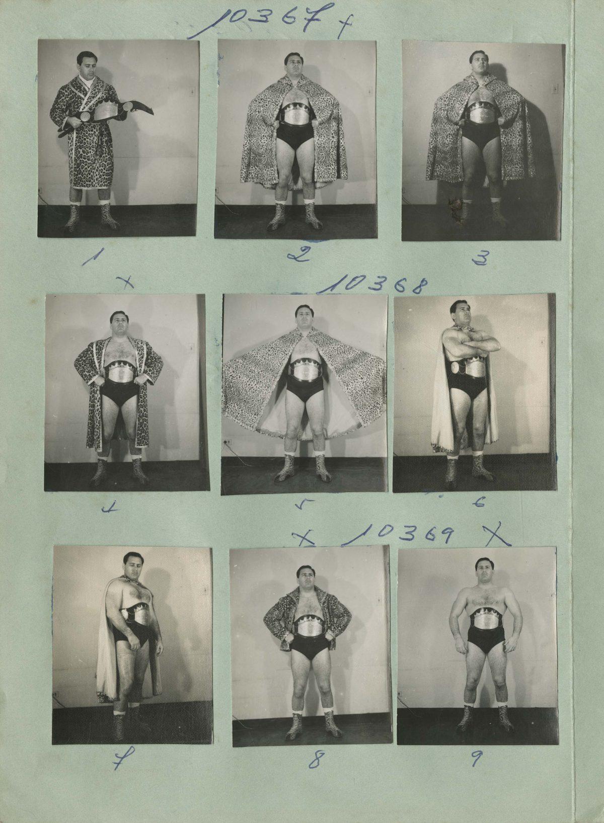 El Jaguar wrestler Bogota, 1960/70s. Copyright Manuel H