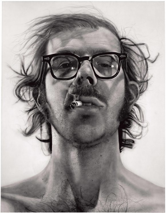 Big Self-Portrait © Chuck Close, courtesy Pace Gallery