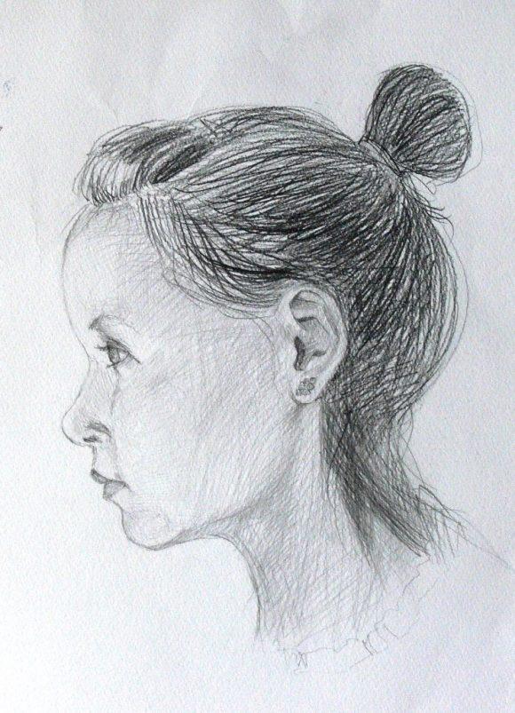"""Autoportrait extrait de la série """"Anete"""", par © Evita Goze"""