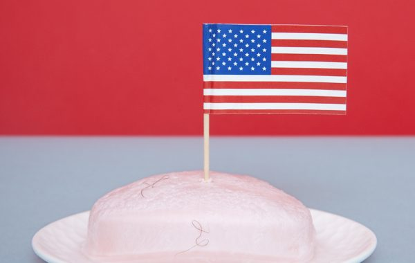 In Neveda it's illegal to put an American flag on a bar of soap © Olivia Locher