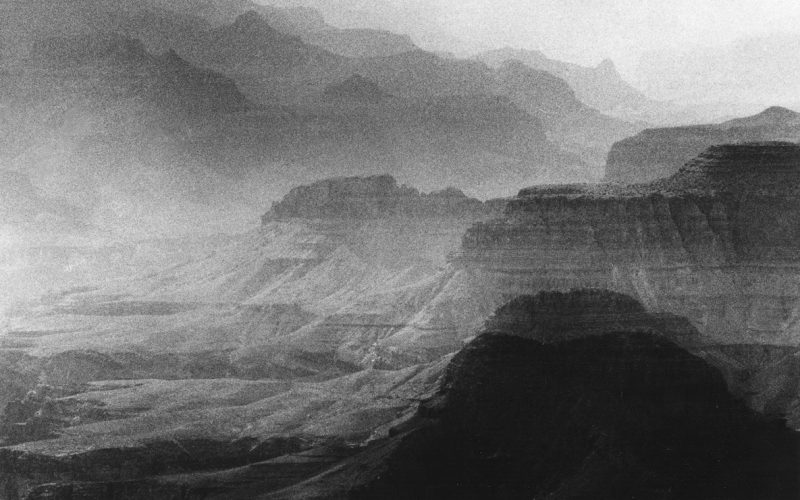 Grand Canyon, 7439 © Renato d'Agostin, courtesy Galerie Thierry Bigaignon
