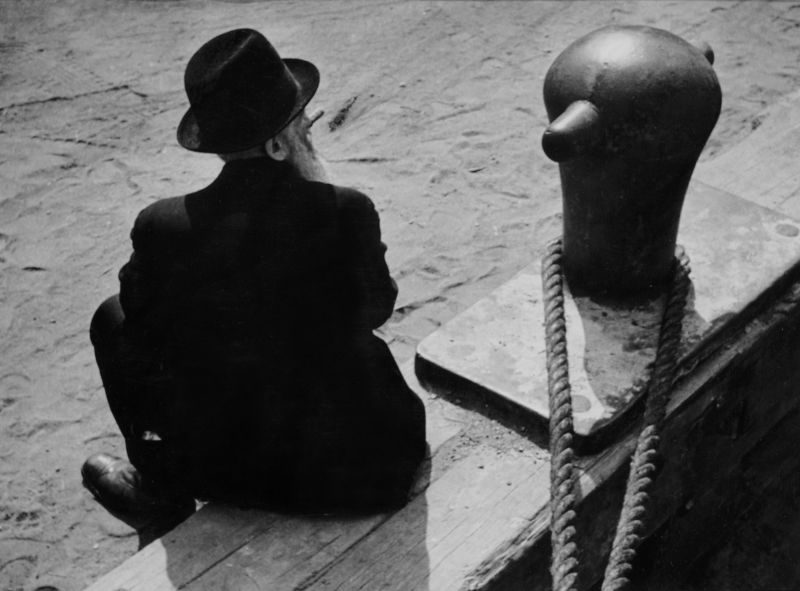 André Kertesz, East River, New York, 1938 © Rmn - Grand Palais. Courtesy Collection Marin Karmitz, Paris