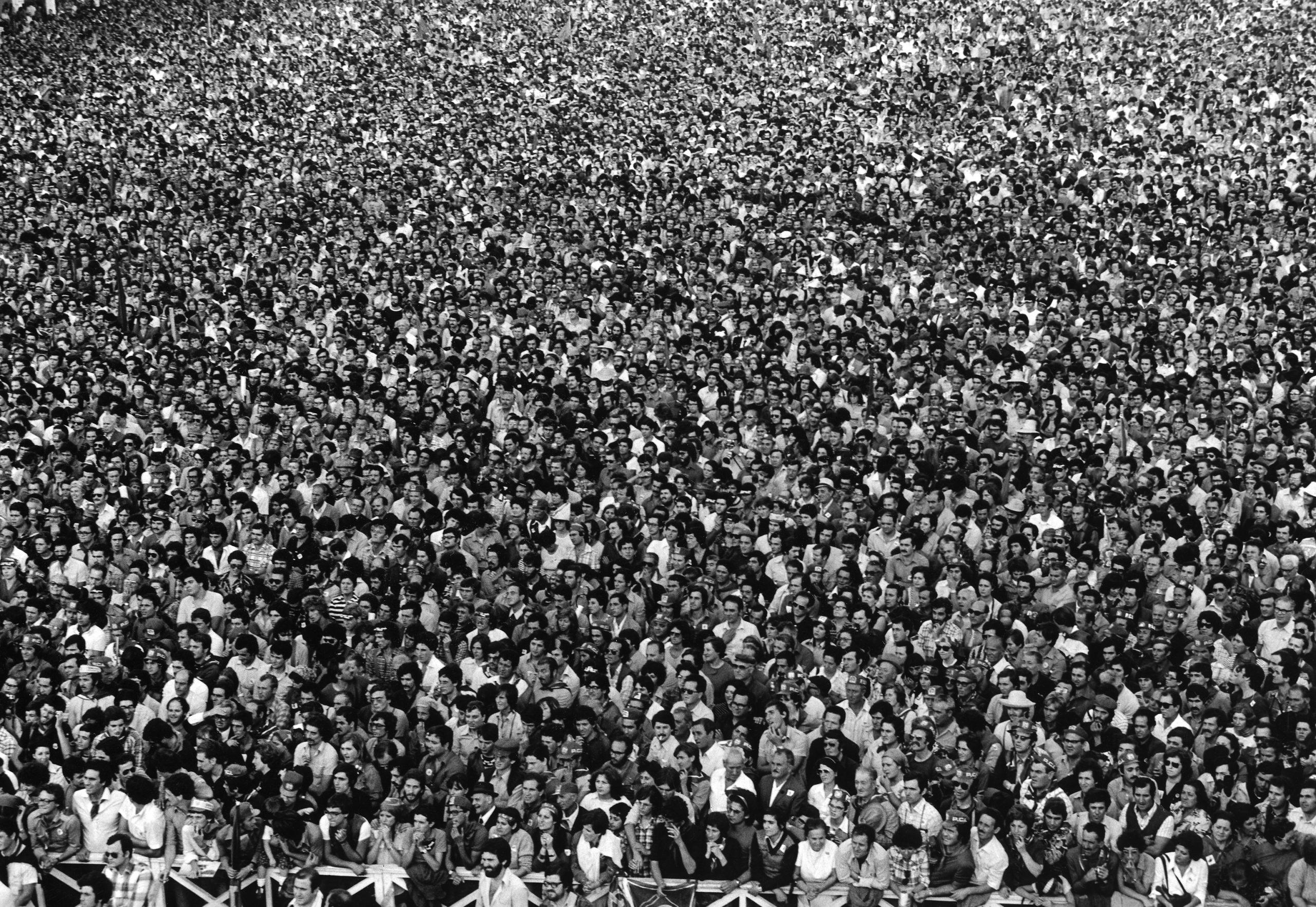 Festival dell'Unità, Naples, 1976 © Mimmo Jodice