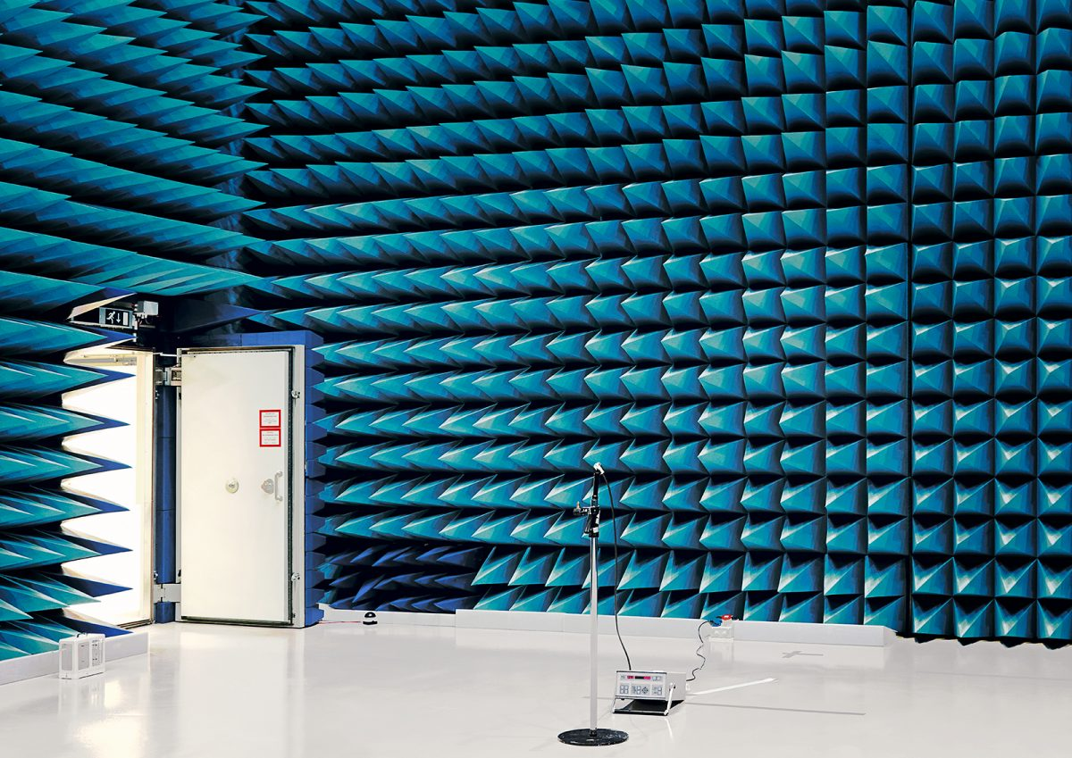 Anechoic Chamber, European Space Research and Technologie Centre, Noordwijk, Pays-Bas © Vincent Fournier