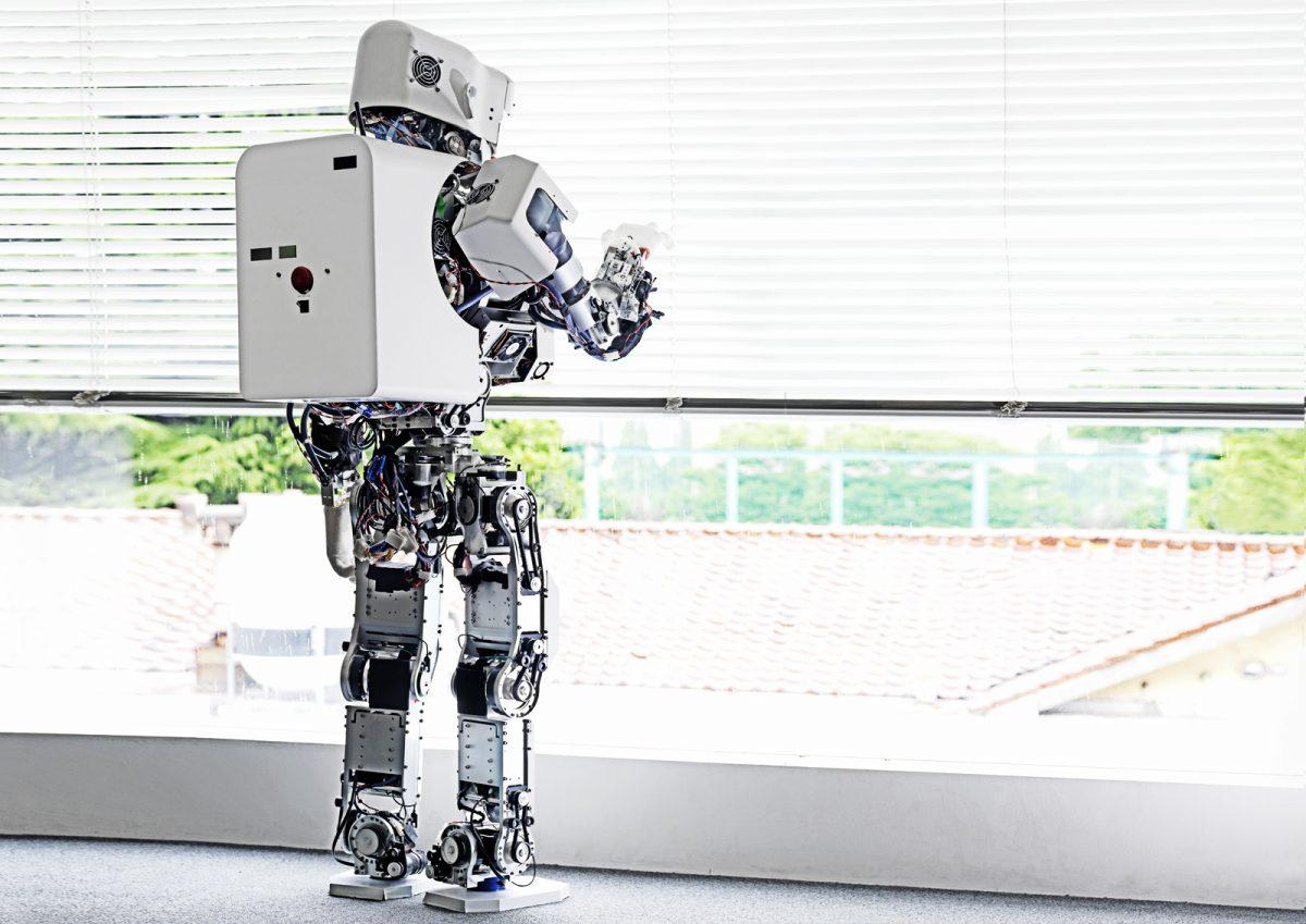Kobian Robot #1, Waseda University, Tokyo, Japon, 2010 ©Vincent Fournier