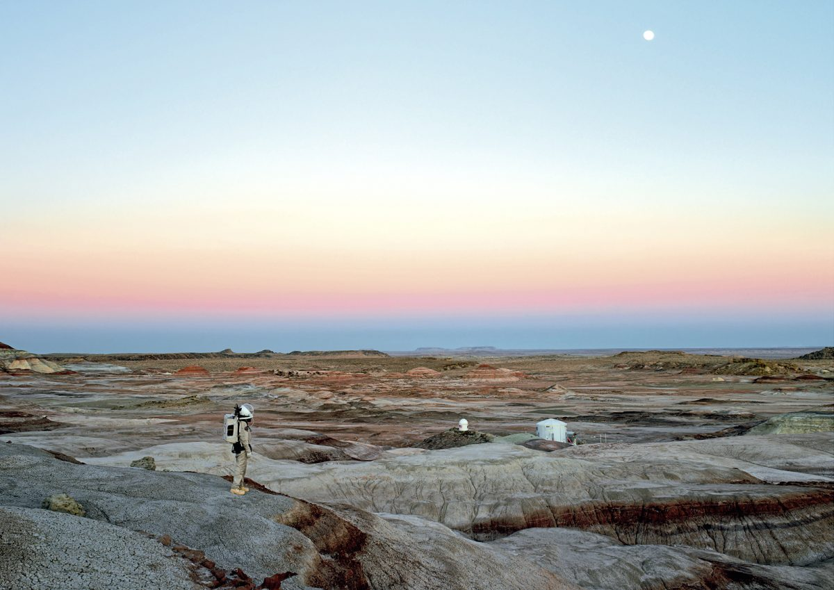 Mars Desert Research Station #11, Mars Society, San Rafael Swell, Utah, États Unis, 2008 © Vincent Fournier