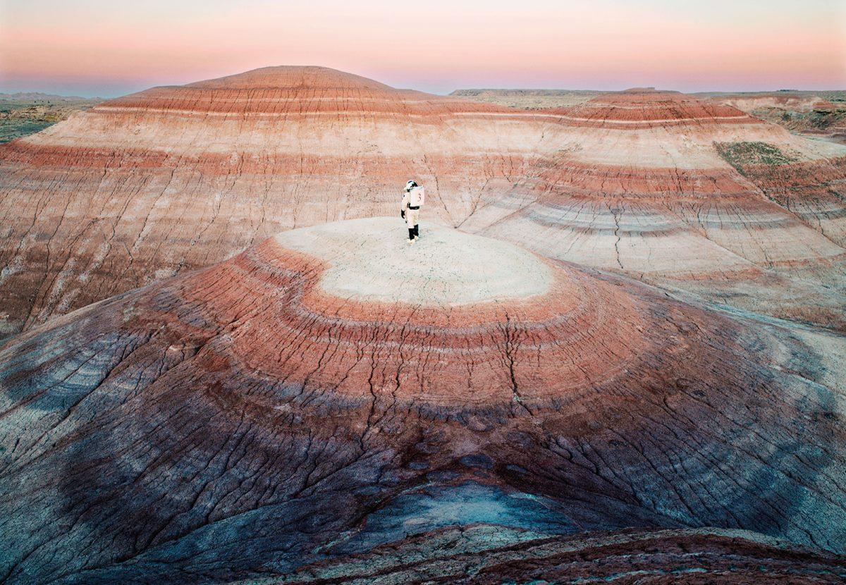Mars Desert Research Station #4, Mars Society, San Rafael Swell, Utah, États Unis, 2008 © Vincent Fournier