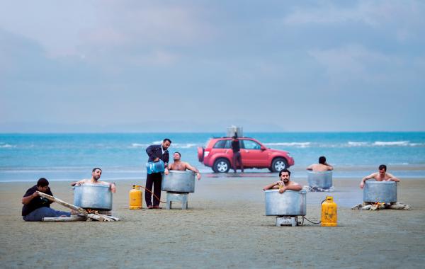 Espace public, 2015 © Morteza Niknahad & Behnam Zakeri