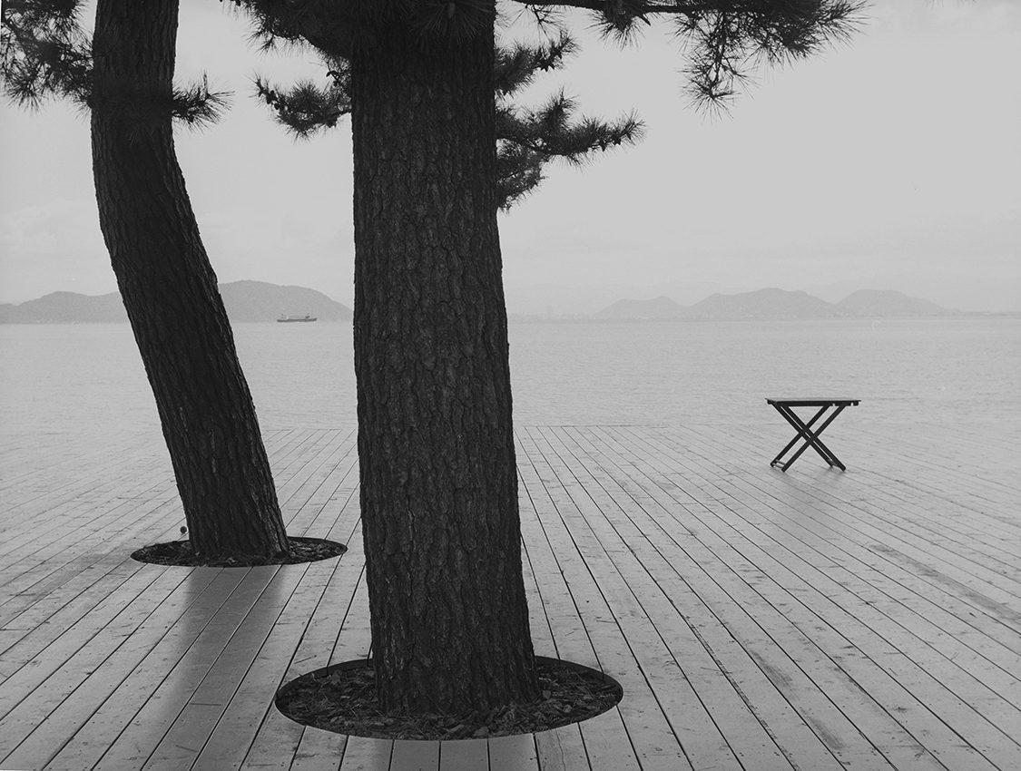 L'arrière-saison Naoshima, Japon, 2015 © Patrick Taberna / Courtesy : Galerie Camera Obscura