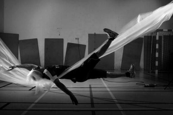 J'étais loin de m'attendre © Salem avec Benoît de Carpentier Intervention portée par Stimultania Maison d'arrêt Lyon-Corbas, 2017