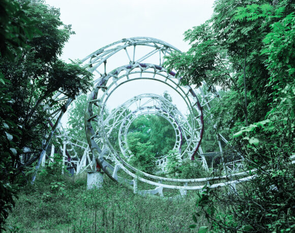 ChenZhuo-18--Abandoned roller coaster,2013