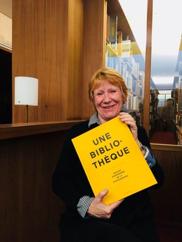 Irène Attinger Responsable de la bibliothèque et de la librairie de la MEP (Maison Européenne de la Photographie) © Radio France / Brigitte Patient
