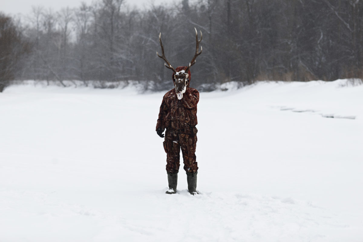 "Deer-man. From ""The hunter"" © Alvaro Laiz"