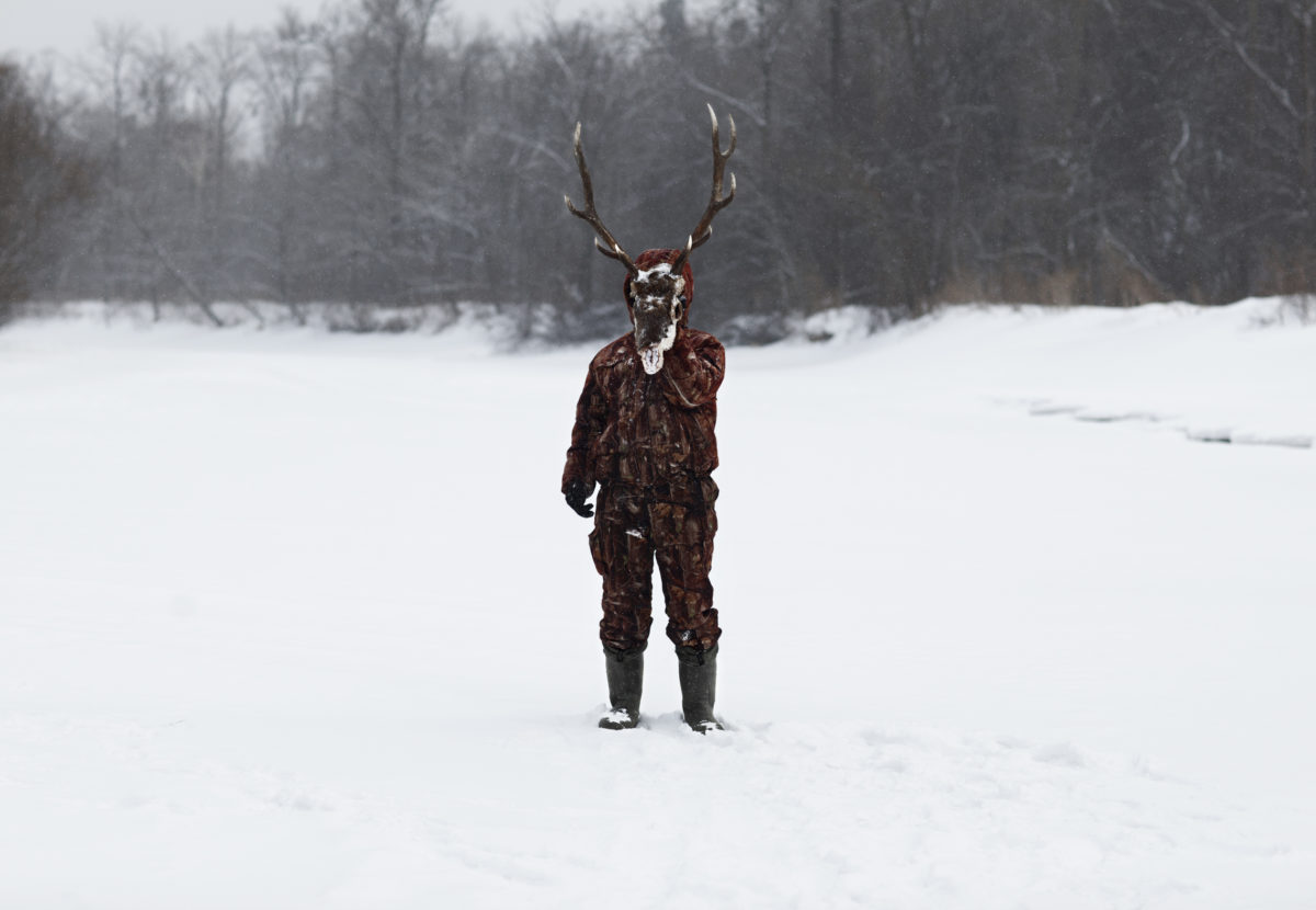 Deer-man. From The hunter © Alvaro Laiz