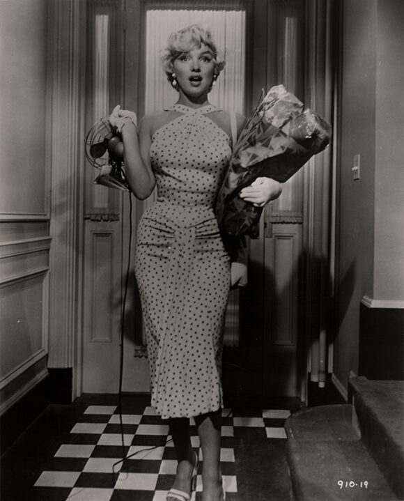 SEPT ANS DE REFLEXION - THE SEVEN YEAR ITCH Marilyn Monroe, film de Billy Wilder, 1955.