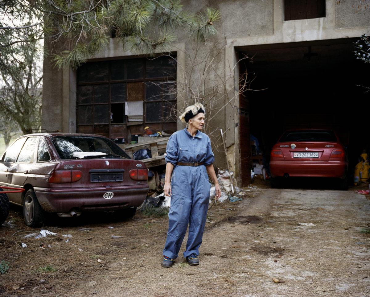 Mooty, série Corbeau, 2004-2017, © Anne Golaz, avec l'aimable autorisation de la Galerie C.