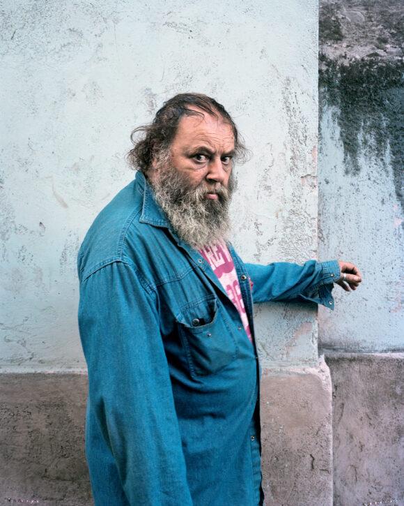 Angelo, série « Les Invisibles », Rome, 2011 © Véronique Ellena