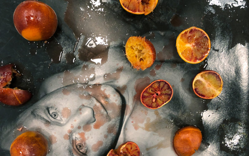Self-reflections, Melancholy and Blood Oranges No.67, London, 2018 © Juergen Teller, All rights Reserved / Fotomuseum, Winterthur