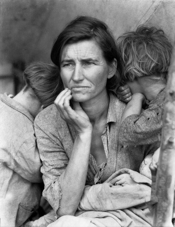 Dorothea Lange politiques du visible jeu de paume fisheye 6
