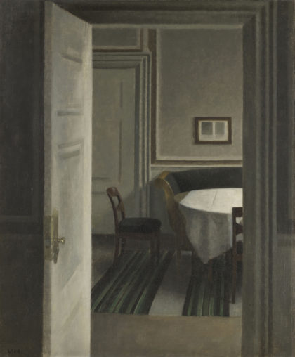 Vilhelm HAMMERSHØI donation Philippe Meyer © RMN-Grand-Palais (musée d'Orsay) / Adrien Didierjean