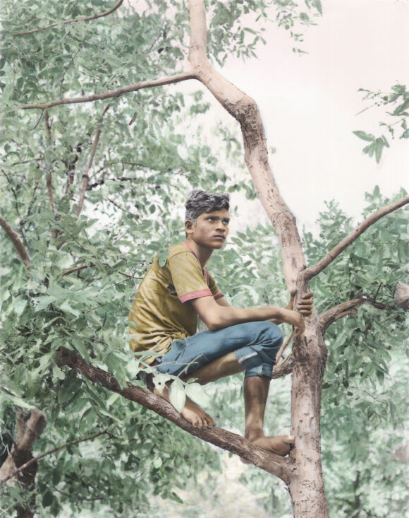 © Vasantha Yogananthan, peint par Jaykumar Shankar