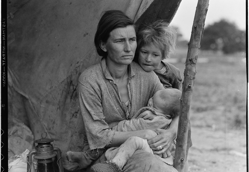 © Dorothea Lange, courtesy library of congress