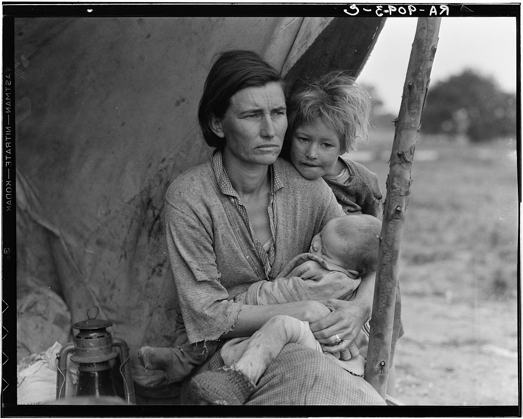 © Dorothea Lange, courtesy library of congress