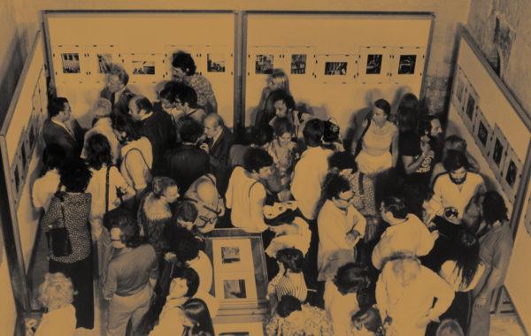 Vernissage de l'exposition André Kertész. Anonyme, 1975.