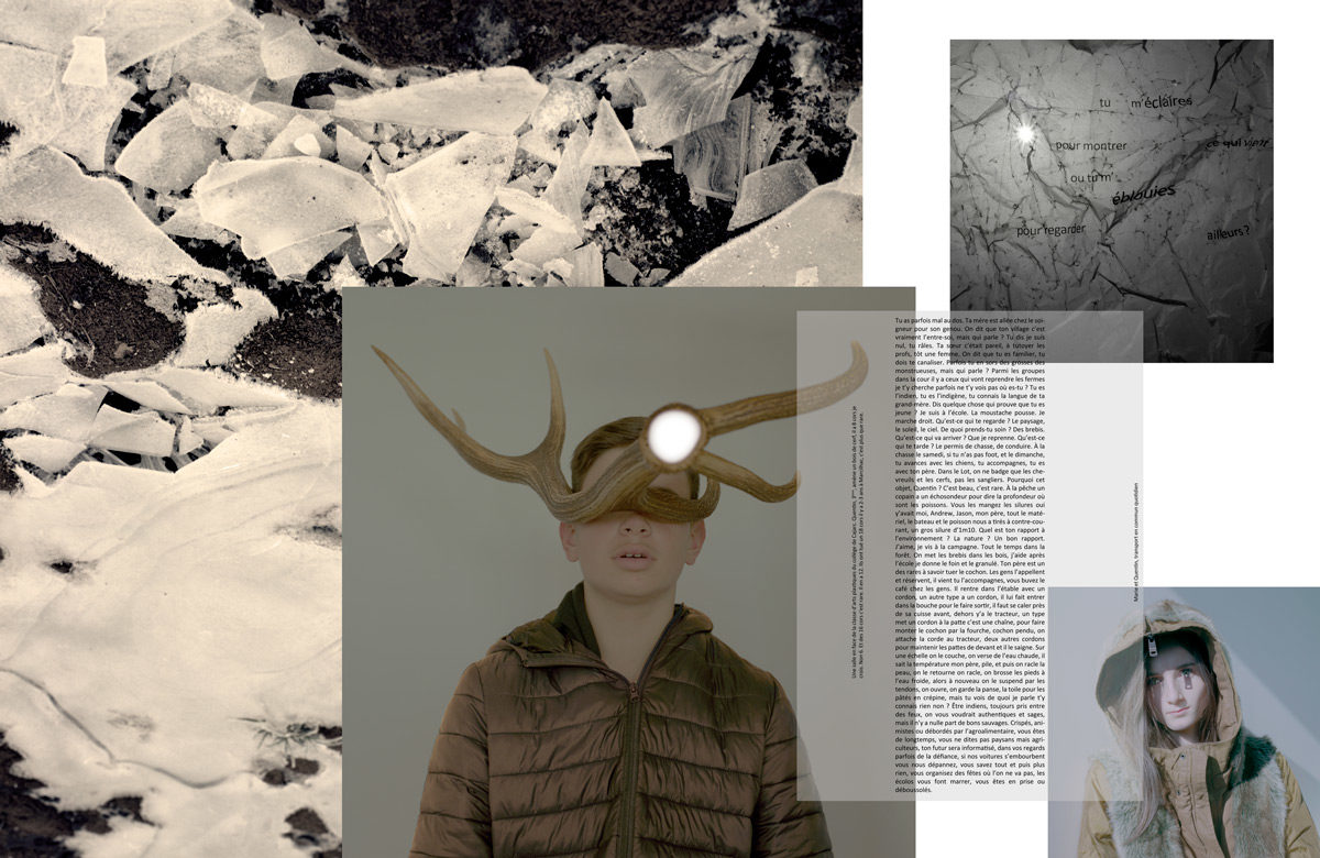 En collaboration avec Bruno Almosnino ça me regarde, 2017 Alexandra Pouzet © Cnap