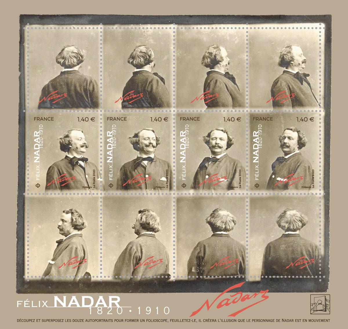 Félix Nadar © La Poste