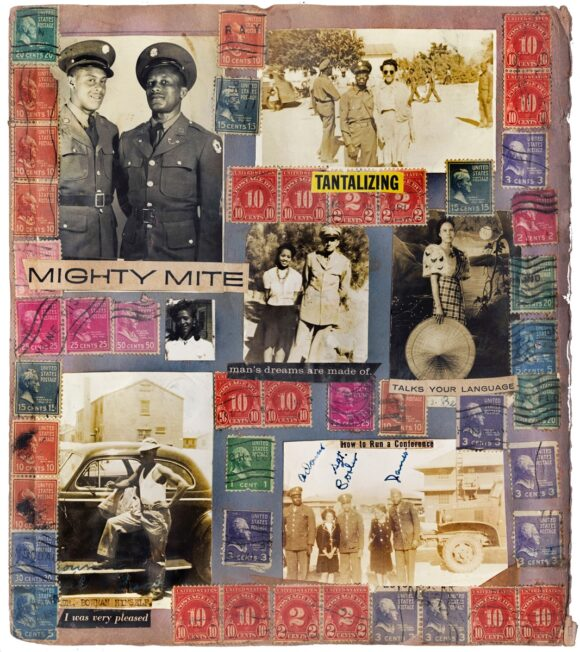 © Richard H Bowman (Military Stamp Scrapbook Album), Courtesy The Walther Collection Imagining Everyday Life Engagements with Vernacular Photography