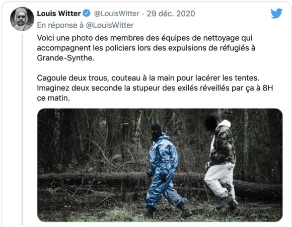 © Louis Witter / capture d'écran Twitter