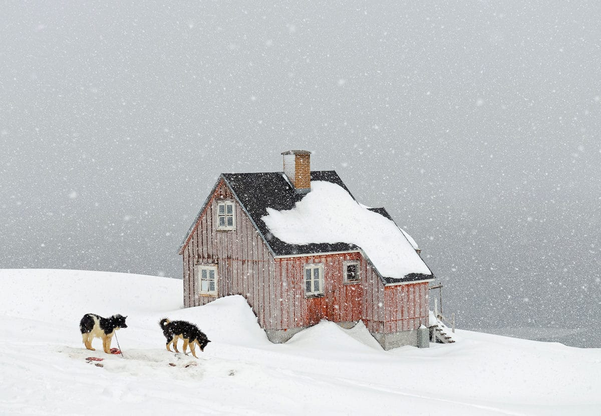 Entre ciel et glace © Tiina Itkonen